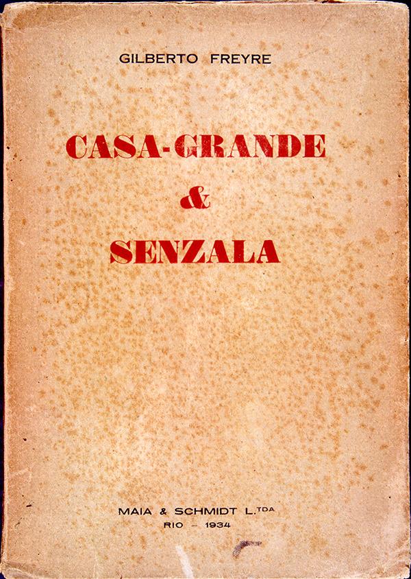 """Capa da primeira edição de """"Casa-Grande & Senzala"""""""