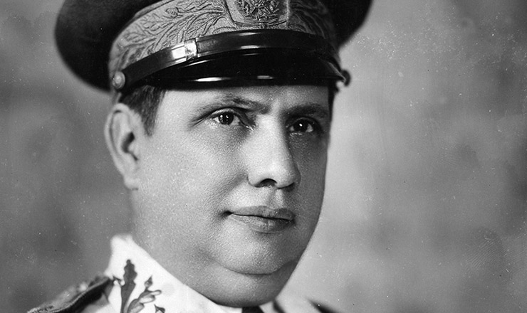 <strong> General G&oacute;is Monteiro, </strong> comandante militar das for&ccedil;as do governo Vargas