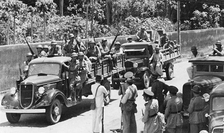 <strong> Tropas legalistas se movimentam </strong> em Pernambuco durante a rebeli&atilde;o da ANL
