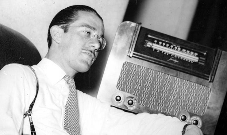 <strong> A Rádio Nacional </strong> podia ser ouvida em todo o país