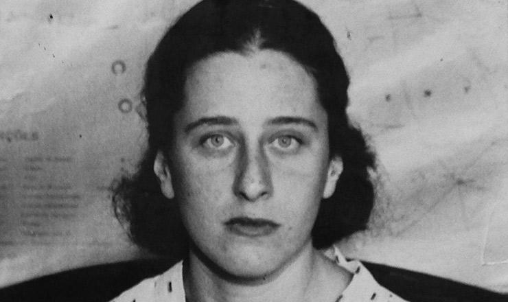 <strong> Olga Ben&aacute;rio </strong> à &eacute;poca de sua pris&atilde;o, mar&ccedil;o de 1936