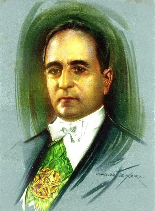 Retrato de Getúlio Vargas por Oswaldo Teixeira (óleo sobre tela)
