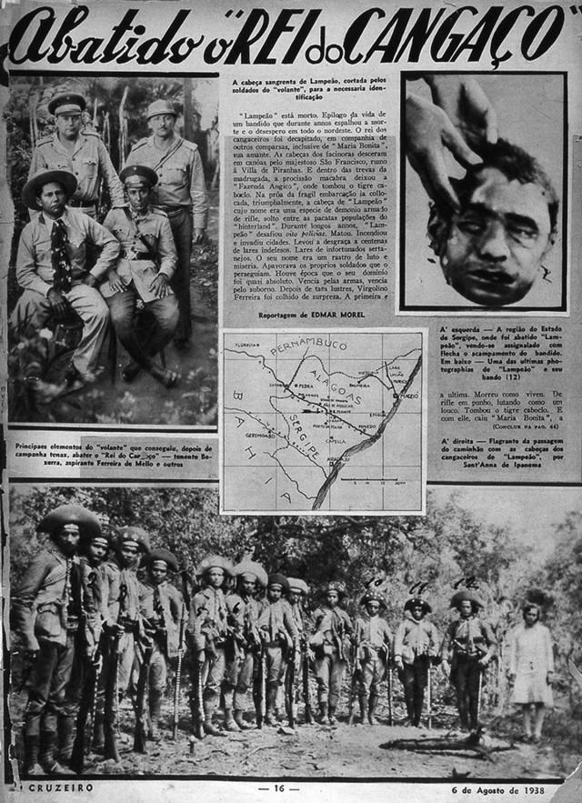 """Revista """"O Cruzeiro"""" , edição de 6 de agosto de 1938"""