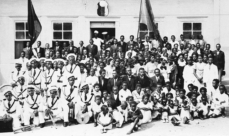 <strong> Frente Negra Brasileira: </strong> se&ccedil;&atilde;o de Tiet&ecirc;, interior de S&atilde;o Paulo, em 1935