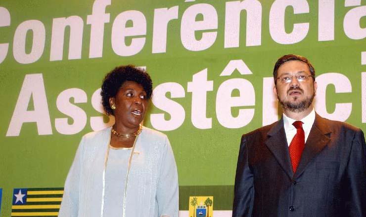<strong> Ministros Benedita da Silva e Ant&ocirc;nio Palocci </strong> (Promo&ccedil;&atilde;o Social e Fazenda, respectivamente)&nbsp;prestigiam a 4&ordf;&nbsp;Confer&ecirc;ncia Nacional de Assist&ecirc;ncia Social