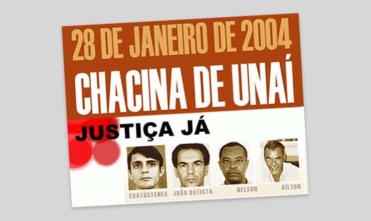 <strong> 28 de janeiro, a data do crime, foi institu&iacute;do </strong> como o Dia Nacional de Combate ao Trabalho Escravo, em homenagem &agrave;s vitimas de Una&iacute;