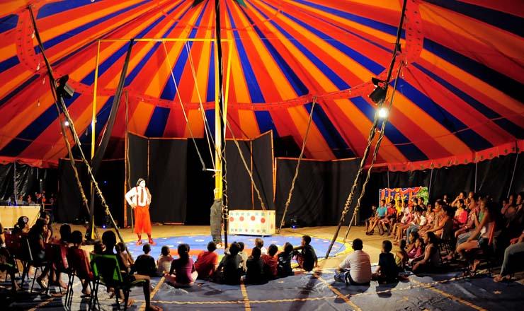 <strong> Ponto de Cultura no Rio de Janeiro: </strong> arte circense