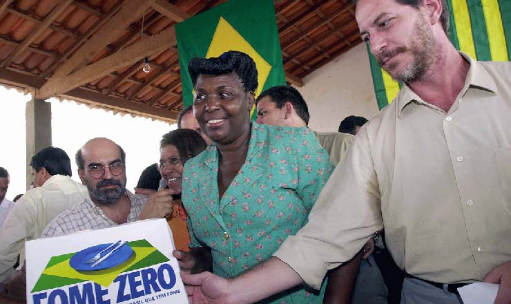 <strong> Ministros Jos&eacute; Graziano</strong> (Seguran&ccedil;a Alimentar)<strong> , Benedita da Silva </strong> (Assist&ecirc;ncia e Promo&ccedil;&atilde;o Social)<strong> e Ciro Gomes </strong> (Integra&ccedil;&atilde;o nacional)<strong> visitam </strong> Guaribas (PI), munic&iacute;pio s&iacute;mbolo do combate &agrave; fome por ter um dos menores IDH do pa&iacute;s
