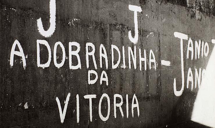 <strong> A improv&aacute;vel chapa J&acirc;nio-Jango toma </strong> os muros da cidade de S&atilde;o Paulo, em 1960