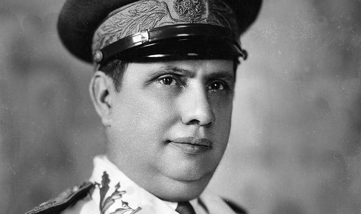 <strong> General G&oacute;is Monteiro</strong> , comandante militar das for&ccedil;as federais