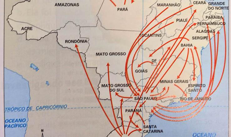 <strong> Fluxos migrat&oacute;rios no Brasil: </strong> desde&nbsp;2001, Nordeste atrai de volta seus filhos que sa&iacute;ram para sobreviver