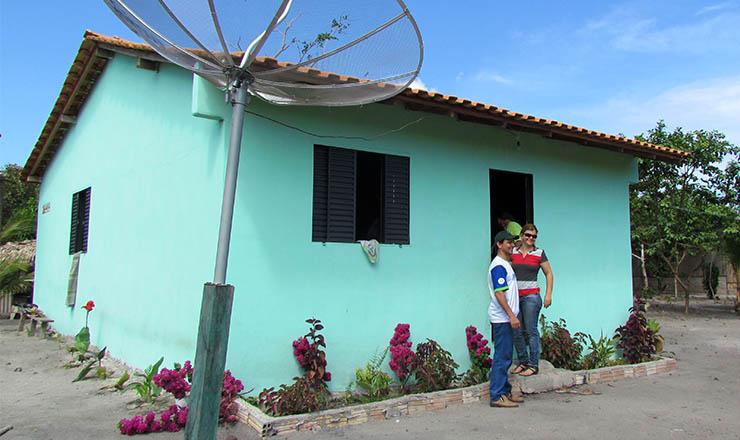 <strong> Casa inaugurada</strong> no Projeto de Assentamento Baix&atilde;o, em Monte Alegre,&nbsp;Par&aacute;
