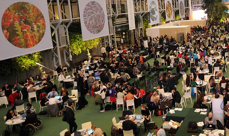 <strong> Plen&aacute;rio da COP-15, Copenhague, </strong> dezembro de 2009  &nbsp;