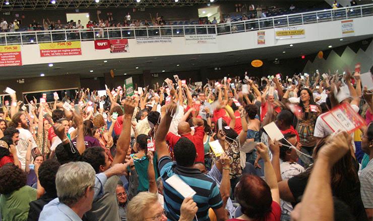 <strong> Plenária final da Confecom, em Brasília:</strong> pela democratização dos meios de comunicação