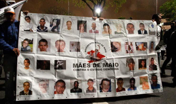 <strong> Nas ruas de S&atilde;o Paulo, grupo M&atilde;es de Maio</strong> &nbsp;denuncia a morte de familiares e pede justi&ccedil;a&nbsp;