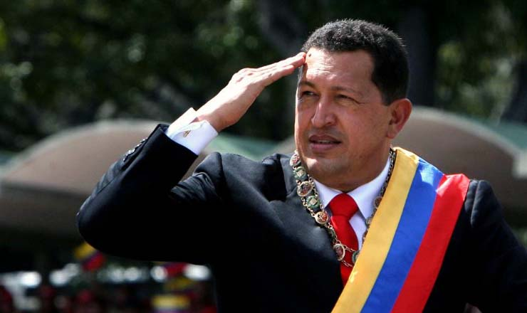 <strong> Ch&aacute;vez toma posse</strong> para seu terceiro mandato como presidente da Venezuela