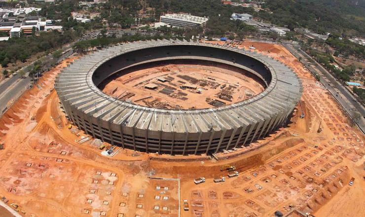 <strong> Mineirão: </strong> ampla reforma para se adequar às exigências da Fifa