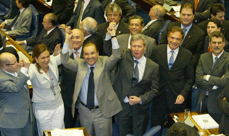 <strong> Oposição comemora:</strong> por quatro votos, cai a prorrogação da CPMF no Senado Federal