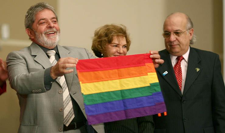<strong> Abertura da primeira Conferência Nacional LGBT</strong> , realizada em 2008, em Brasília