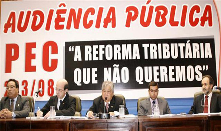 <strong> Audi&ecirc;ncia p&uacute;blica na Assembleia Legislativa de&nbsp;Mato Grosso: </strong> contra os principais pontos da reforma tribut&aacute;ria  &nbsp;  &nbsp;