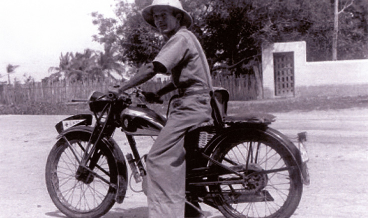 <strong> Guarda medicador</strong> do Serviço de Malária do Nordeste, Ceará, 1939