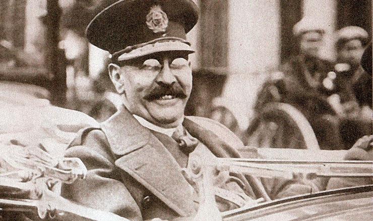 <strong> General José F&eacute;lix Uriburu</strong> , que assumiu o governo da Argentina ap&oacute;s golpe