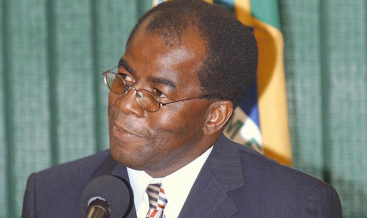 <strong> O novo ministro do Supremo Tribunal Federal</strong> , Joaquim Benedito Barbosa Gomes  &nbsp;