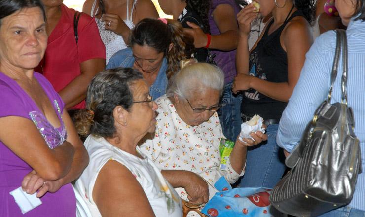 <strong> Brasília</strong> - Trabalhadoras rurais participantes do 2º Encontro Distrital de Mulheres Rurais da Agricultura Familiar do Distrito Federal, que tem o objetivo de debater temas como a atuação feminina na organização rural e o empreendedorismo (15 de agosto de 2008)
