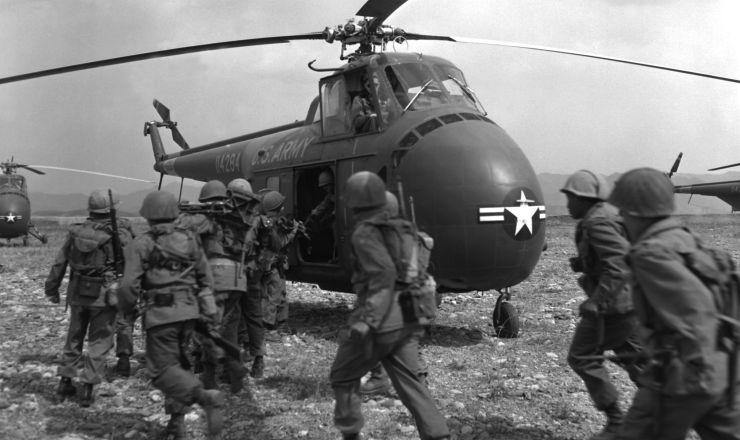 <strong> Soldados dos EUA</strong> na guerra da Coreia