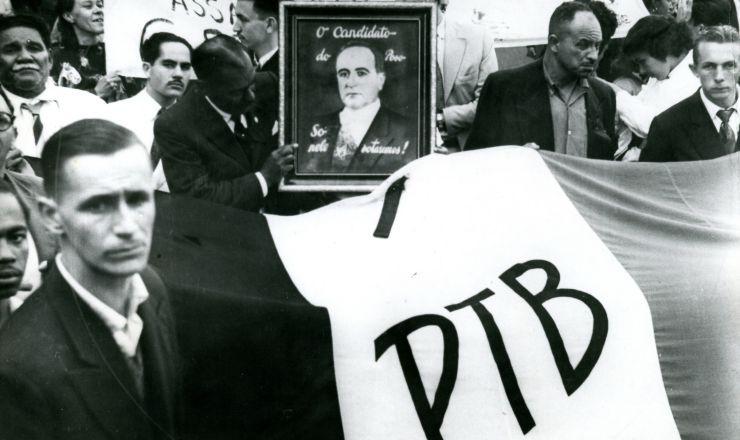 <strong> Militantes trabalhistas homenageiam</strong> Getúlio no dia de sua morte