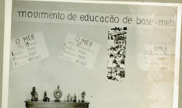 <strong> Exposição do MEB em Caruaru,</strong> Pernambuco, 1963