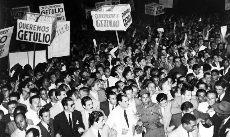<strong> Rio de Janeiro. Manifesta&ccedil;&atilde;o Queremista</strong>