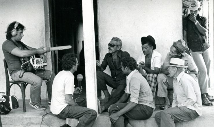 <strong> &nbsp;Filmagem do document&aacute;rio &quot;Cabra Marcado para Morrer&quot;, </strong> de Eduardo Coutinho, em 1964