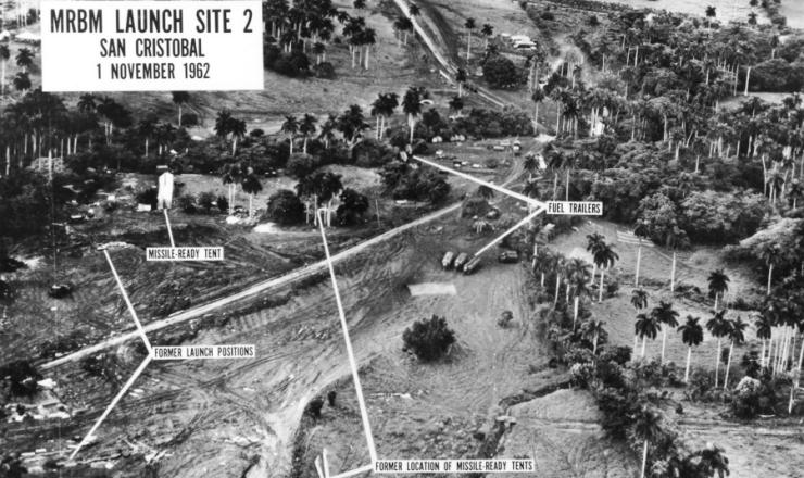 <strong> Foto a&eacute;rea feita por avi&atilde;o espi&atilde;o</strong> dos EUA mostra base de m&iacute;sseis em Cuba