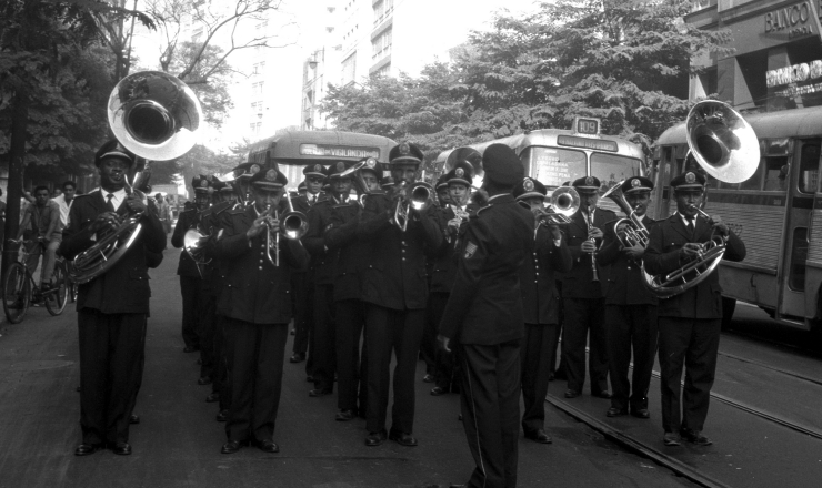 <strong> Banda da Polícia </strong> de Vigilância do RJ celebra a criação do estado da Guanabara