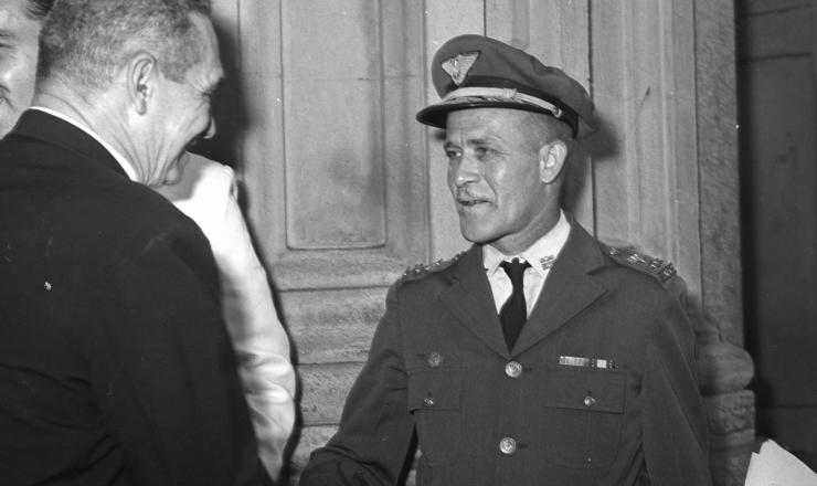 <strong> O major da Aeronáutica Haroldo Veloso, </strong> um dos líderes das rebeliões de Jacareacanga e de Aragarças