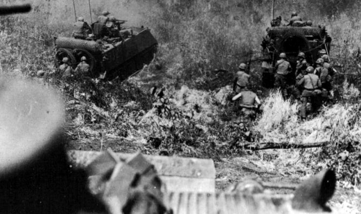 <strong> Militares norte-americanos</strong> realizam ofensiva no Vietn&atilde;