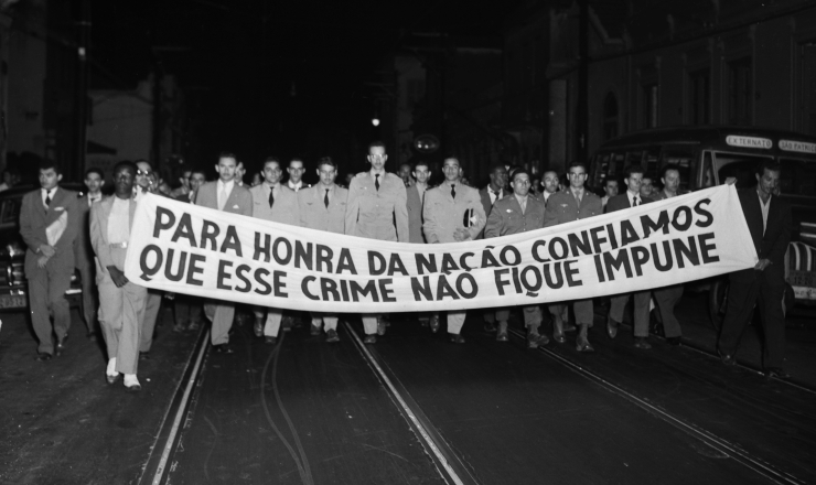 <strong> Manifestantes</strong> pedem justi&ccedil;a