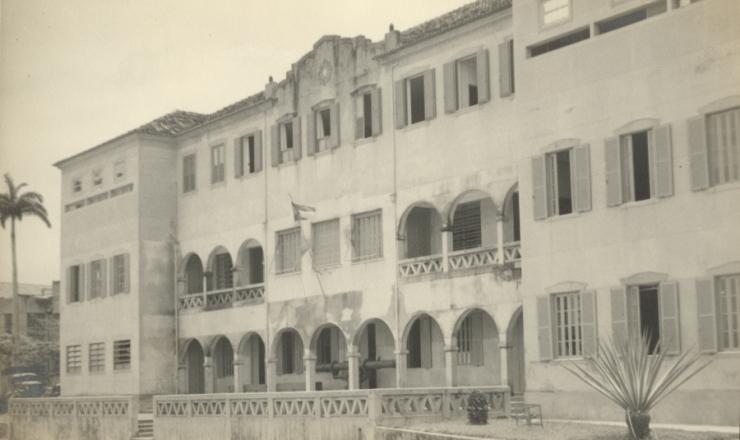 <strong> Sede da Escola Superior de Guerra</strong> na Urca (Rio de Janeiro)