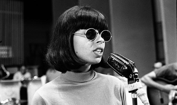 <strong> A cantora Nara Le&atilde;o </strong> em julho de 1967