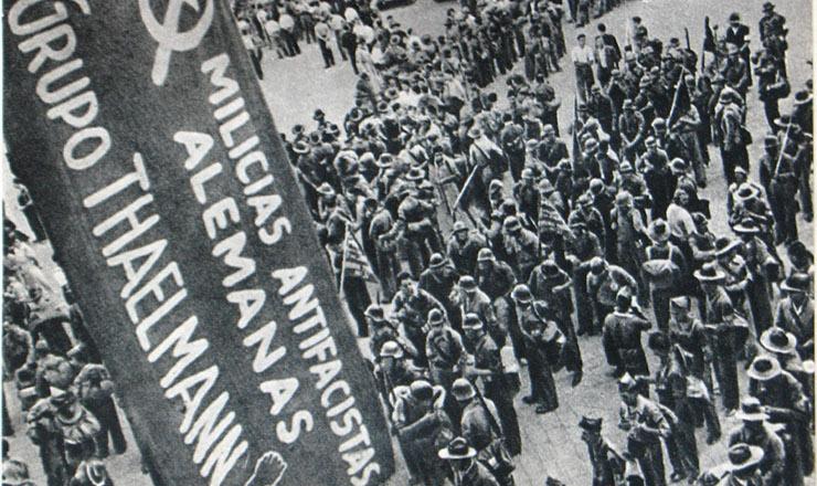 <strong> Antifascistas alem&atilde;es</strong> na Guerra Civil Espanhola&nbsp;
