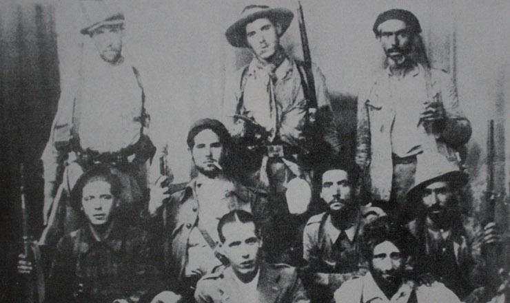 <strong> Brigadistas internacionais </strong> b&uacute;lgaros na Guerra Civil Espanhola, 1937&nbsp;