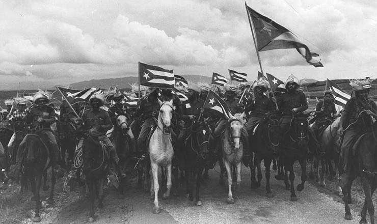 <strong> Rebeldes</strong> a caminho de Havana