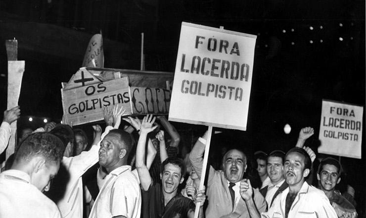 <strong> Manifesta&ccedil;&atilde;o contra </strong> Carlos Lacerda, Rio de Janeiro, 1963&nbsp;