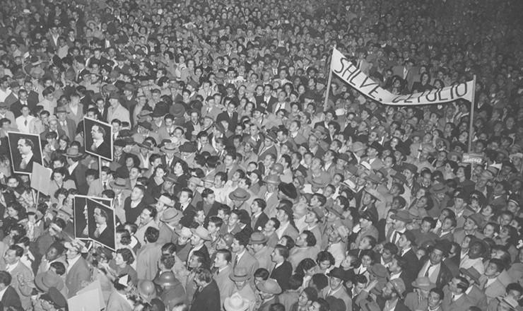 <strong> Campanha presidencial&nbsp;de Get&uacute;lio Vargas</strong> para as elei&ccedil;&otilde;es de 1950 no Rio Grande do Sul
