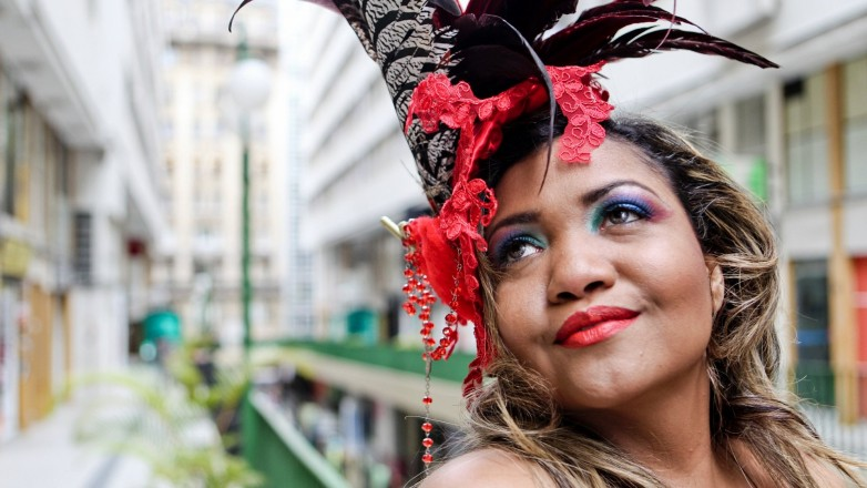 <strong> A cantora paraense</strong> Gaby Amarantos, precursora do tecnobrega