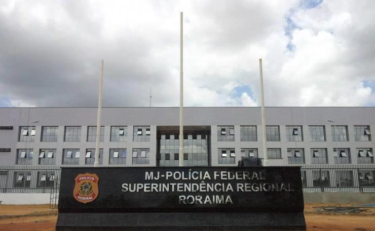 <strong> Sede da Pol&iacute;cia Federal&nbsp;em Roraima, </strong> para onde foram levados os acusados do &ldquo;caso Gafanhoto&rdquo;