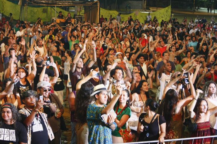 <strong> Encontro Nacional dos Pontos de Cultura,</strong> em Fortaleza, 2010