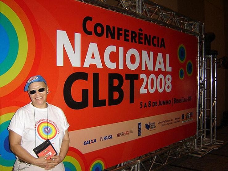 <strong> Conferência Nacional GLBT,</strong> Brasília, 2008