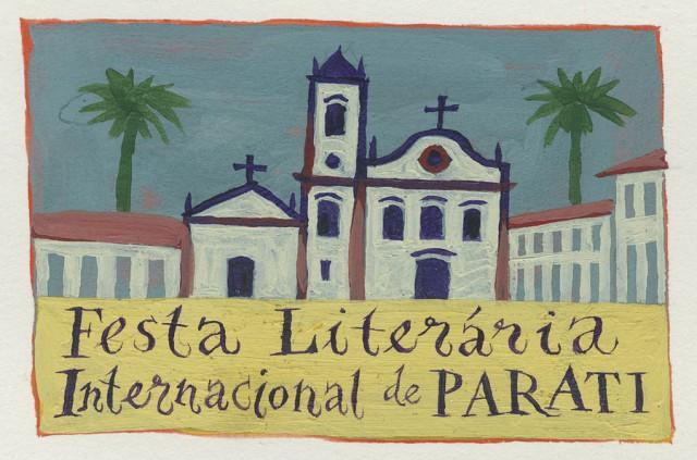 Cartaz oficial da primeira edição da FestaLiteráriaInternacional de Paraty
